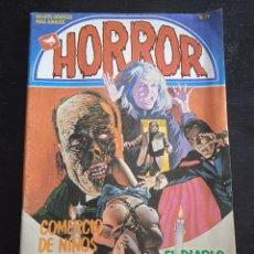 Cómics: HORROR - Nº 79 - EDICIONES ZINCO.. Lote 277261473