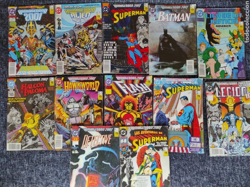 ARMAGEDDON 2001 - LOTE DE 12 EJEMPLARES -EDITA : ZINCO DC (Tebeos y Comics - Zinco - Otros)