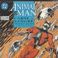 Cómics: ANIMAL MAN - CARNE Y SANGREE - LIBRO 1 - JAMIE DELANO - A ESTRENAR !!. Lote 277585243