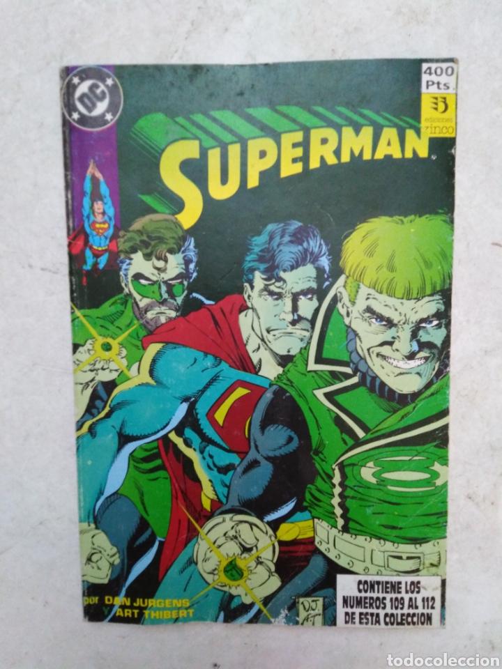 SUPERMAN ( DC ) NÚMEROS DEL 109 AL 112 (Tebeos y Comics - Zinco - Superman)