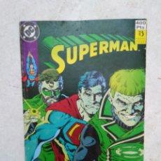 Cómics: SUPERMAN ( DC ) NÚMEROS DEL 109 AL 112. Lote 277660333