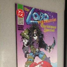 Cómics: LOBO, ESPECIAL NAVIDAD PARAMILITAR / DC - ZINCO 1992. Lote 277687568