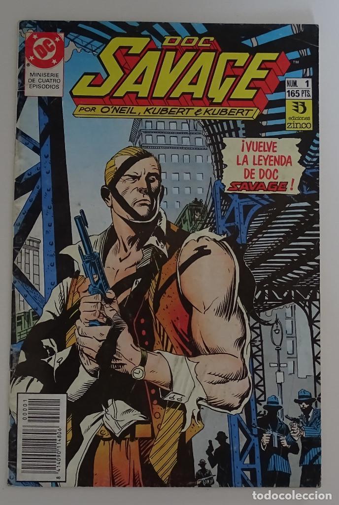 COMIC DE DOC SAVAGE (Nº 1) - DC ZINCO (Tebeos y Comics - Zinco - Otros)