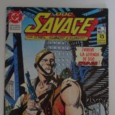 Cómics: COMIC DE DOC SAVAGE (Nº 1) - DC ZINCO. Lote 277735648
