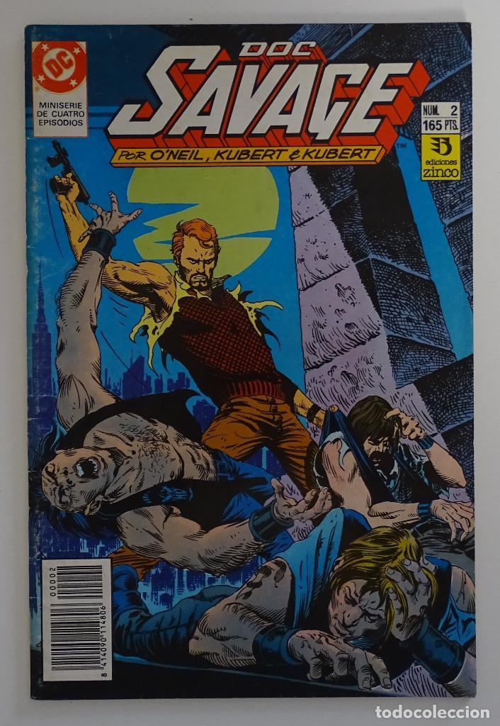 COMIC DE DOC SAVAGE (Nº 2) - DC ZINCO (Tebeos y Comics - Zinco - Otros)