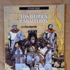 Cómics: LOS HÉROES CABALLEROS - ZINCO / NUMERO 2 (LA OSA MAYOR). Lote 278300793