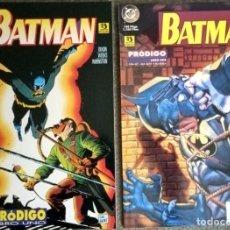 Cómics: BATMAN: PRÓDIGO (2 TOMOS COMPLETA). Lote 278385828