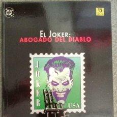 Cómics: EL JOKER: ABOGADO DEL DIABLO. Lote 278390348