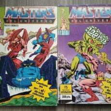 Cómics: MASTERS DEL UNIVERSO 1 AL 8 DE ZINCO EN 2 RETAPADOS. Lote 278445153