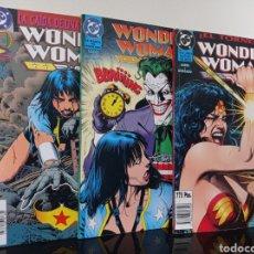 Cómics: WONDER WOMAN - LOEBS DEODATO BOLLAND - 1 2 Y 3 - EL TORNEO, TRAMPA DEL JOKER, CAIDA DE UNA AMAZONA. Lote 278468578