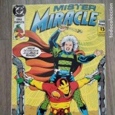 Cómics: RETAPADO MISTER MIRACLE DE ZINCO. DOUG MOENCH Y LEN WEIN. Lote 278485153