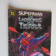 Cómics: SUPERMAN LOS LADRONES DE LA TIERRA BYRNE SWAN ZINCO ARX124. Lote 278586453