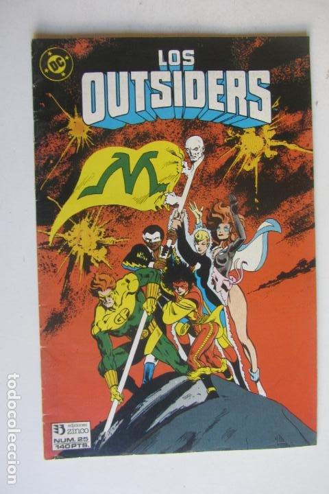 LOS OUTSIDERS N.º 25 DE ALAN DAVIS ZINCO MUCHOS MAS A LA VENTA MIRA TUS FALTAS ARX124 (Tebeos y Comics - Zinco - Outsider)