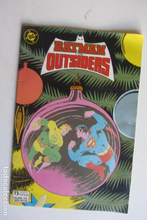 LOS OUTSIDERS N.º 14 ZINCO MUCHOS MAS A LA VENTA MIRA TUS FALTAS ARX124 (Tebeos y Comics - Zinco - Outsider)