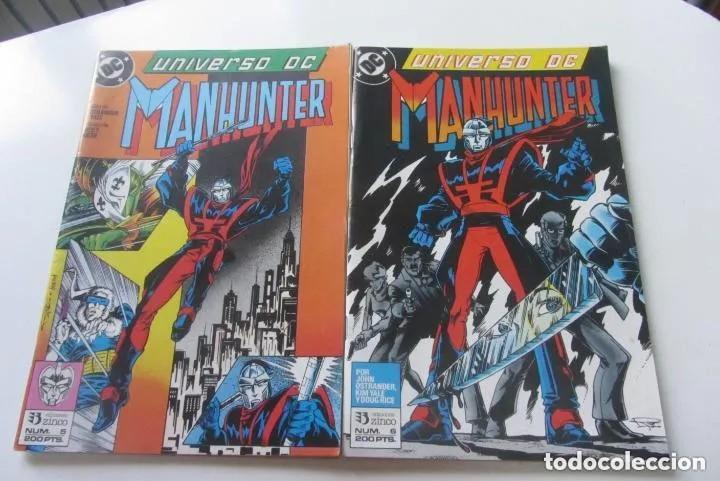 UNIVERSO DC Nº 5 Y 6 MANHUNTER COMPLETA JOHN OSTRANDER ZINCO MUCHOS EN VENTA MIRA TUS FALTAS ARX124 (Tebeos y Comics - Zinco - Outsider)