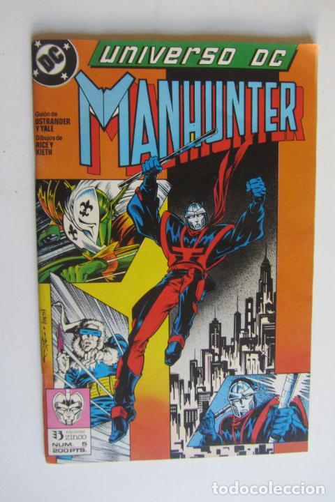 Cómics: UNIVERSO DC Nº 5 Y 6 MANHUNTER COMPLETA JOHN OSTRANDER ZINCO MUCHOS EN VENTA MIRA TUS FALTAS arx124 - Foto 3 - 278588168