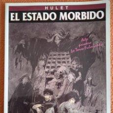 Cómics: HULET EL ESTADO MORBIDO. ACTO PRIMERO: LA TORRE FULMINADA 1994 ED. ZINCO. Lote 279384058