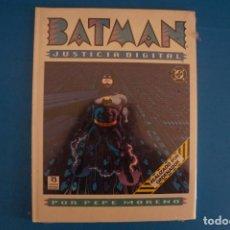 Cómics: COMIC DE BATMAN JUSTICIA DIGITAL AÑO 1990 DE EDICIONES ZINCO LOTE 32 F. Lote 279429883