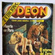 Cómics: ODEON #54 - ZINCO - RELATOS GRÁFICOS PARA ADULTOS. Lote 279552538