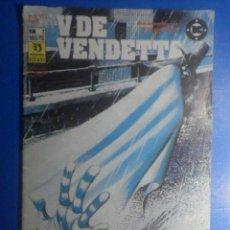 Cómics: COMIC - V DE VENDETTA - Nº 7 - EDICIONES ZINCO - POR ALAN MOORE Y DAVID LLOYD. Lote 280474488