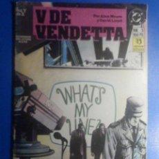 Cómics: COMIC - V DE VENDETTA - Nº 5 - EDICIONES ZINCO - POR ALAN MOORE Y DAVID LLOYD. Lote 280474523