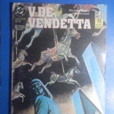 Cómics: COMIC - V DE VENDETTA - Nº 8 - EDICIONES ZINCO - POR ALAN MOORE Y DAVID LLOYD. Lote 280474548