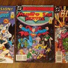 Cómics: ¡INVASIÓN! NSº 5, 7 Y 8. EDICIONES ZINCO. 1990. DC COMICS.. Lote 280566613