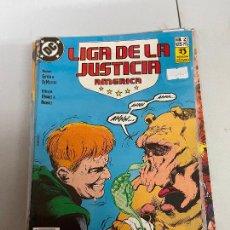 Cómics: ZINCO DC - LIGA DE LA JUSTICIA DE AMERICA NUMERO 27 BUEN ESTADO. Lote 280690643