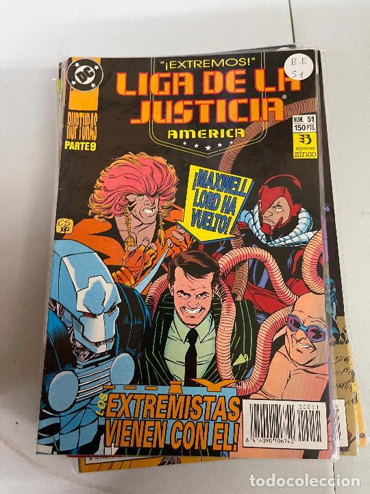ZINCO DC - LIGA DE LA JUSTICIA DE AMERICA NUMERO 51 BUEN ESTADO (Tebeos y Comics - Zinco - Liga de la Justicia)
