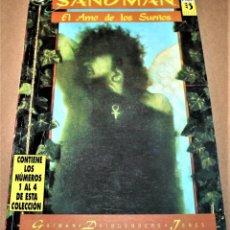 Cómics: SANDMAN - EL AMO DE LOS SUEÑOS - RETAPADO CON NÚMEROS DEL 1 AL 4 - DC / ED. ZINCO. Lote 282455248