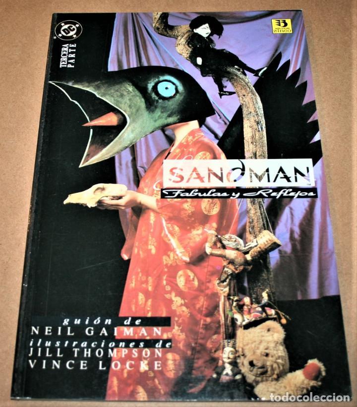 SANDMAN - FABULAS Y REFLEJOS TERCERA PARTE - VERTIGO - DC / EDICIONES ZINCO (Tebeos y Comics - Zinco - Prestiges y Tomos)