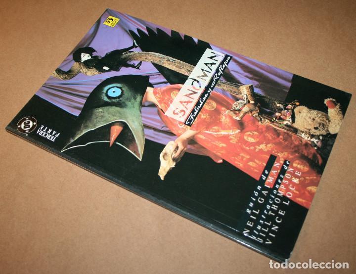 Cómics: SANDMAN - FABULAS Y REFLEJOS TERCERA PARTE - VERTIGO - DC / EDICIONES ZINCO - Foto 2 - 282455263