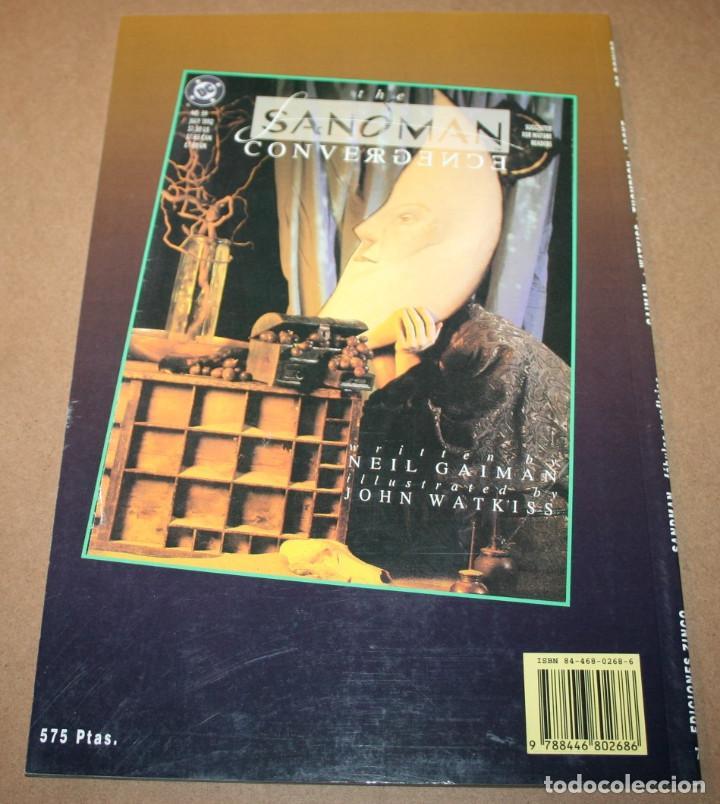 Cómics: SANDMAN - FABULAS Y REFLEJOS TERCERA PARTE - VERTIGO - DC / EDICIONES ZINCO - Foto 3 - 282455263