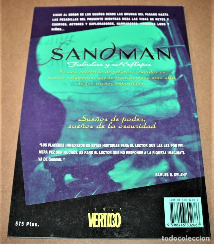 Cómics: SANDMAN - FABULAS Y REFLEJOS - VERTIGO - DC / EDICIONES ZINCO - Foto 3 - 282455288