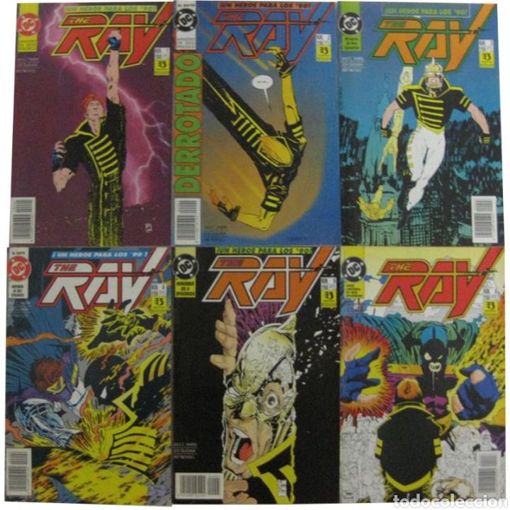 THE RAY , JOE QUESADA( COMPLETA) EDICIONES ZINCO (Tebeos y Comics - Zinco - Otros)