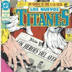 Comics: NUEVOS TITANES VOL. II Nº 35 - COMO NUEVO !!. Lote 283126408