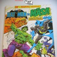 Cómics: BATMAN VS LA MASA, ZINCO AÑO 1989, MUY DIFICIL Y RARO, MARVEL, DC. Lote 297370008