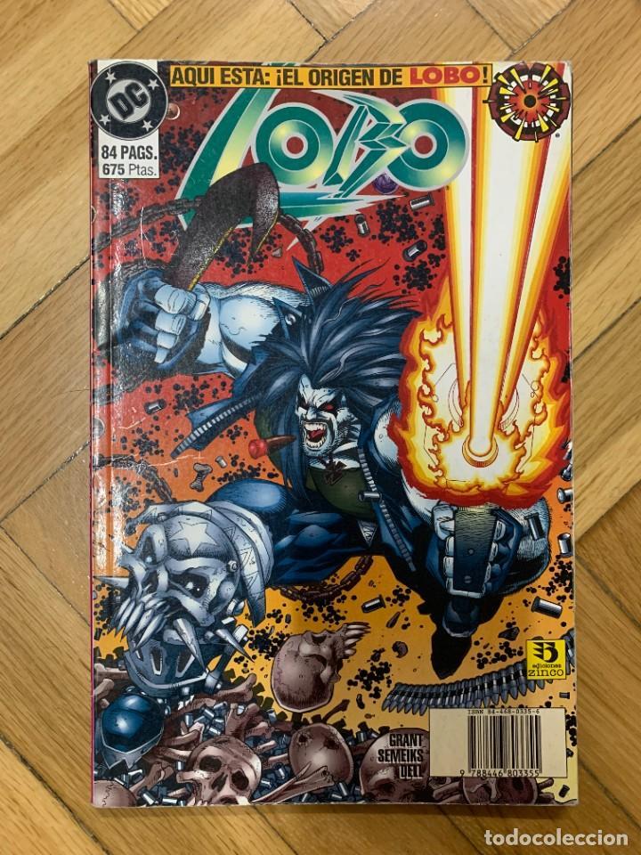 LOBO TOMO 1: EL ORIGEN DE LOBO (Tebeos y Comics - Zinco - Lobo)