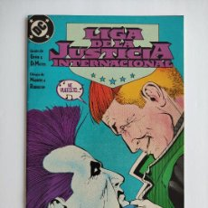 Cómics: LIGA DE LA JUSTICIA INTERNACIONAL #16 (GRAPA). Lote 284090253