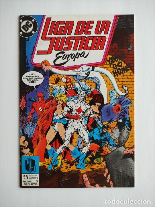 LIGA DE LA JUSTICIA EUROPA #3 (GRAPA) (Tebeos y Comics - Zinco - Liga de la Justicia)