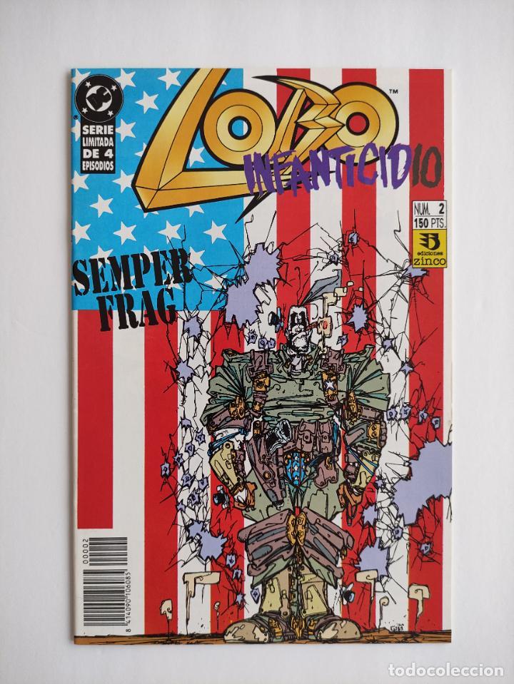 LOBO: INFANTICIDIO #2 (GRAPA) (Tebeos y Comics - Zinco - Lobo)