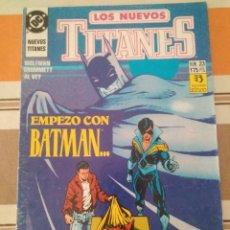 Cómics: LOS NUEVOS TITANES 23 - COMIC DC ZINCO - PEDIDO MINIMO 3€. Lote 284322238
