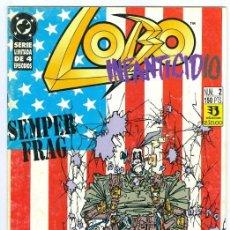 Cómics: ZINCO. LOBO. INFANTICIDIO. 2. Lote 283731003