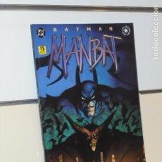 Cómics: BATMAN MANBAT LIBRO 3 ELSEWORLDS JAMIE DELANO DC - ZINCO. Lote 297180148