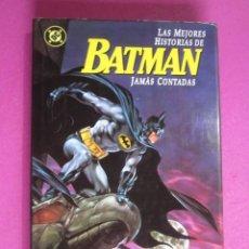 Cómics: LAS MEJORES HISTORIAS DE BATMAN JAMAS CONTADAS ZINCO C91. Lote 284732103