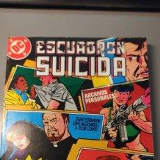 Cómics: ESCUADRÓN SUICIDA - NÚMEROS DEL 9 AL 12. Lote 284784438