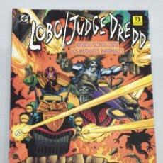 Cómics: LOBO / JUDGE DREDD - MOTORISTAS PSICOPATAS CONTRA LOS MUTANTES INFERNALES ¡ ONE SHOT 48 PAGINAS !. Lote 285216218