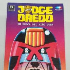 Cómics: JUDGE DREDD : EN BUSCA DEL NIÑO JUEZ / ZINCO. Lote 285216358