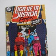 Cómics: LIGA DE LA JUSTICIA EUROPA - Nº 6 - DC - ZINCO ARX143. Lote 285250843