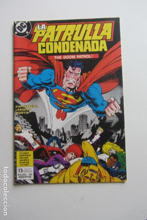 LA PATRULLA CONDENADA - Nº 10 DC - ZINCO ARX143 (Tebeos y Comics - Zinco - Liga de la Justicia)